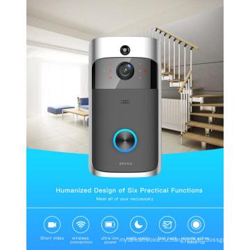 Смарт WiFi видео дверной звонок 130 градусов широкий Ангел камеры с низким потреблением