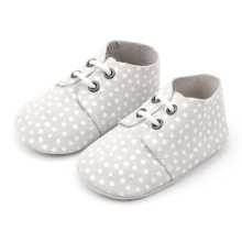 Borong High Quality Newborn Baby Oxford Shoes
