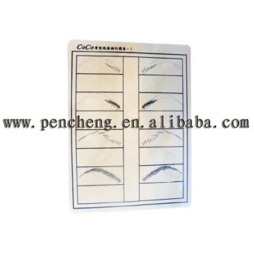 Practice Eyebrow Sheet S-COCO2