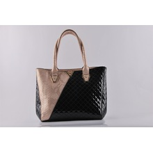 New Design Fashion PU Croco Matching Embroider Lady′s Shoulder Bag Hand Bag (NM-W03)