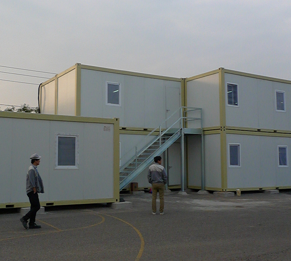 Portable and Flexible Combined Container Modular House