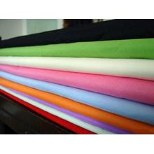 WHITE TC90/10 GARMENT FABRIC
