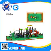 Nouveau type de terrain de jeux extérieur pour les enfants à jouer à des jeux en Chine