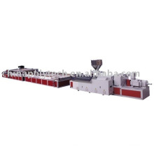 Provide WPC(Foamed) Wide board extrusion line