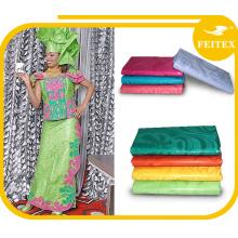 Feitex mayorista de China proveedor de ropa africana ropa de moda mujer ropa de algodón tela de brocado para la fiesta de la boda