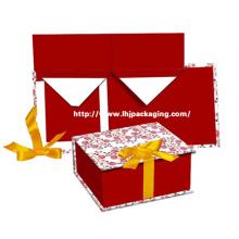 Embalaje de papel de lujo plegable caja cosmética