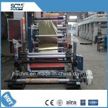 Máquina de estampado de papel hidráulica automática completa, máquina de estampación de plata