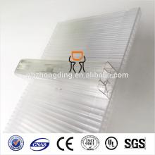 100% утечки-доказательство 600мм/1040mm Ширина U-замок поликарбонат (PC) лист