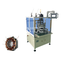 Motor de Alta Eficiencia BLDC, Motor de Ventilador Estator Máquina de Bobinado Automática de Aguja