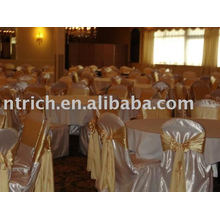 Satin chair cover,banquet/hotel/wedding chair covers