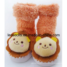 Calcetines calzados de calzado