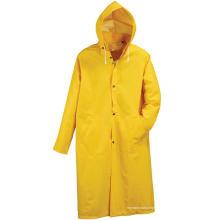Vêtements de pluie en PVC personnalisés pour adultes