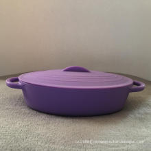 Recipiente de la ensalada del cuenco de sopa del silicón de la vajilla de la cocina