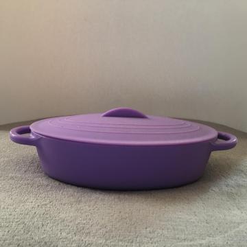 Vajilla de cocina tazón de sopa de silicona recipiente de ensalada