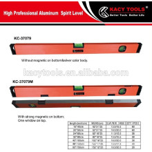 Heavy-duty aluminum magnetic angle degree measuring tools Box machine spirit level
