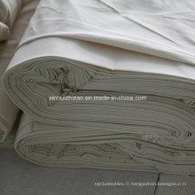 Tissu gris de haute qualité