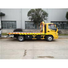Foton 4 Ton Flatbed Car Towing Trucks