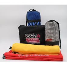Custom Soft Micro Fibra banho Esportes Viagem Toalha De Rolo De Tecido De Microfibra De Rolo De Toalha