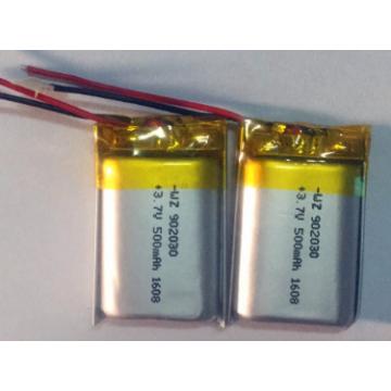 Bateria de 500mAh Lipo para o orador de Wifi (LP2X3T9)