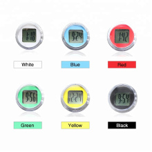 Hot Sale Universal Motorcycle Clocks Watch Waterproof Stick-On Motorbike Mount Watch Moto Digital Clock Suit ATV All Moto