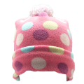 polar fleece beanie hat for children