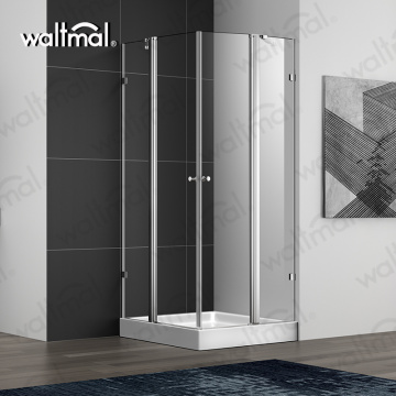 Hot Sale Double Swing Glass Shower Door
