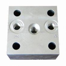 Aluminum Customized CNC Machined Part, Removes Sharp Edge, Strict Tolerance Control, OEM Service