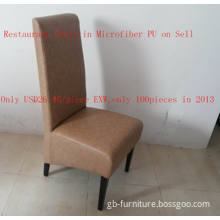 Restaurant Chair in Best Quality Artificial Leather (microfiber PU) (YTC013)
