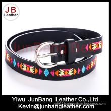 2016 Fashion Ladies PU Embroiders Belts