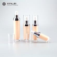 Botella de acrílico cosmética redonda clásica de 60 ml