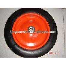 7x1.75 roda semi pneumática