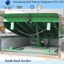 Plataforma ajustável elétrica do elevador da rampa da carga 10t