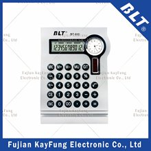 12 Digits Desktop Calculator with Clock for Promotion (BT-912)