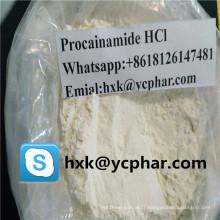 Chlorhydrate de procaïnamide HCl CAS 614-39-1 anesthésiques locaux soulage la douleur soulagement