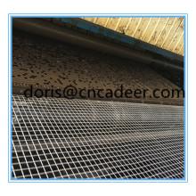 Anti-Static Self Adhesion+PP Fiberglass Composite Geogrid