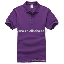 camisa polo de encargo de la camiseta del ajuste del músculo del precio al por mayor barato