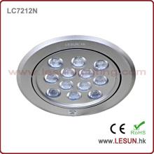 Lumière d'intérieur de puissance élevée de 12W / 36W vers le bas pour la boutique de bijoux / magasin de diamant / magasin de tissu
