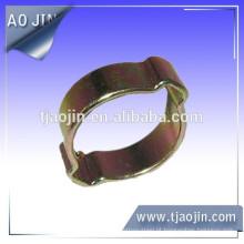 Braçadeira de mangueira de orelha simples / dupla galvanizada