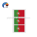 Tattoo Stickers Waterproof Flag Tattoo Stickers Heart-shaped on Face Arm 32 Teams
