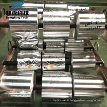 Rouleau jumbo de papier d'aluminium de couleur de haute qualité pour des capsules de bouteille avec le prix bas