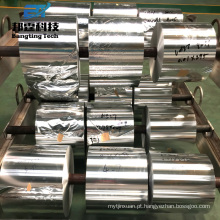 Pagamento Ásia Alibaba China cigarro e embalagem flexível Uso 7 micron espessura folha de alumínio