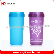 BPA Free, 500 мл пластиковая бутылка для протеинов (KL-7036)