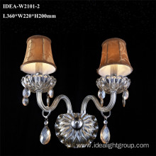 corridor lamp chandelier blown glass wall lamp