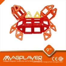 Mag aprendendo quebra-cabeça magnético / 3D blocos de construção para crianças