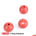 Light Red Fashion Type Rubber Ball with Hole