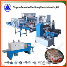 (wider-film type) Collective Bottles Secondary Shrink Packing Machine