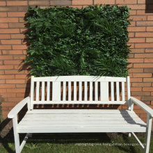 Wholesale natural look anti-uv artificial vertical garden with foliage
