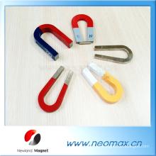 Kundenspezifische U-Form AlNiCo magnete Hufeisenmagnet für heißen Verkauf