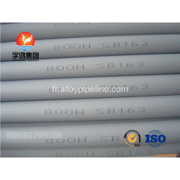 ASME durable SB514 Incoloy Pipe DIN 17459 1.4876