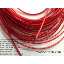 12k Carbon Fiber Heating Cable with Teflon